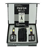 2 개 30w 9005 H10 안개 램프 키트 골프 5/6/7 제타 화관 캠리 등 자동차 주도 헤드 라이트 키트