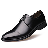 Men's Oxfords  Comfort / Pointed Toe / Closed Toe  Casual Flat Heel Others Black / Brown Walking
