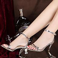 Homme-Décontracté-Argent Or-Talon Aiguille-Confort-Chaussures à Talons-Polyuréthane