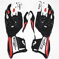 Fuld Finger Læder Bomuld Motorcykler Handsker