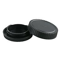 Dengpin Rear Lens Cover +Camera Body Cap for Samsung NX500 NX300M NX3000 NX3300 NXmini