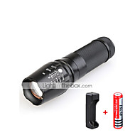Lights LED Flashlights/Torch LED 3000 lumens Lumens 5 Mode Cree T6 18650 / AAA / 26650Adjustable Focus / Waterproof / Impact Resistant /