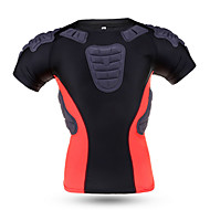 Sports Bike/Cycling Tops Men's Short Sleeve Breathable / Comfortable Nylon Classic Black M / L / XL / XXLExercise