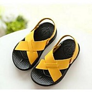 Boy's Sandals Summer Sandals PU Casual Flat Heel Others Yellow / White Others
