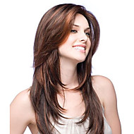 premierwigs mode lige naturlige farve brazilian jomfru limfri fuld blonde parykker silke base-blonder foran parykker