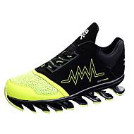 Unisexe-Décontracté-Vert Rouge Blanc-Talon Plat-Confort-Chaussures d'Athlétisme-Tulle