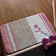 Cotton Embroidered Bedroom Floor Mats Doormat Carpet Mats For Bathroom (40 * 60cm)
