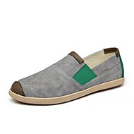 Men's Loafers & Slip-Ons Spring / Summer Closed Toe Canvas Outdoor / Casual Flat Heel Others Blue / Yellow / Green / Red