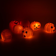 halloween zásoby dekorace párty osvětlení dýně koule halloween hračka (1ks)