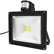 30 wattů IP65 vodotěsné vedl světlomet projekt snímač lampa pir detekce pohybu (ac85-265v)