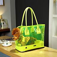 Γάτα Σκύλος Αντικείμενα μεταφοράς & Σακίδια ταξιδίου πλάτης Με Λουράκι Κατοικίδια Αντικείμενα μεταφοράς Φορητό ΜονόχρωμοΛευκό Κίτρινο