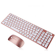 Ultra Slim Thin Design 2.4GHz Wireless Keyboard With Mouse Mice Kit for Desktop Laptop PC Computer Keyboard Set