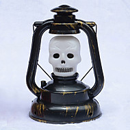 1 stk halloween stemmestyring spøkelse kalt lykt portable lys restaurere gamle måter gresskar halloween lampe