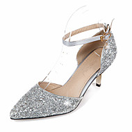 Women's Heels  / Basic Pump / Pointed Toe Wedding / Office & Career / Party & Evening / Dress /