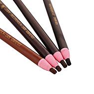 Sobrancelha Lápis Brilho Gloss Colorido / Longa Duração Preta / Cinza / Marrom / Café Olhos 1 1
