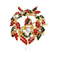 סדרת תכשיטי חג המולד של סיכת סיכה זרה פעמון בדרגה גבוהה