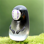Moss Micro-Landscape Decorative Decoration Spirited Away Chihiro Resin Section Size Of The Face-Free Man Decorated DIY Materials