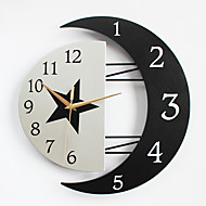 Modern/Contemporary Houses Wall ClockOthers Metal / Wood 32*31CM Indoor Clock