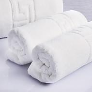Badehandtuch Set Weiß,Jacquard Gute Qualität 100% Baumwolle Handtuch