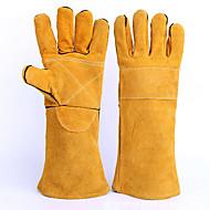 industrielle høj temperatur svejsning handsker (gul og gul palm)