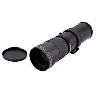 420-800mm f / 8.3-16 טלה סופר עדשה ידנית זום T2-ניקון t הר מתאם טבעת עבור D600 D90 D800 Nikon D5100 D7000