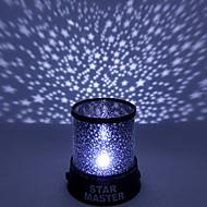 Farbwechsel-Sterne-Beauty-Sternenhimmel Projektor Nachtlicht (3 x AA, gelegentliche Farbe)