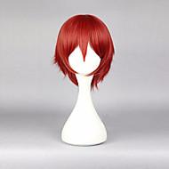 30 εκατοστά anime cosplays δολοφονία classromm κάρμα Akabane κόκκινο cosplay περούκα ανδρική φορεσιά περούκα perruque συνθετικά μαλλιά