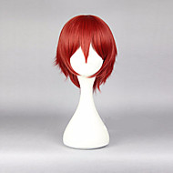 30cm 애니메이션 암살 classromm 카르마 아카바네 빨강 코스프레 가발 남성 의상 가발 cosplays 합성 머리를 perruque