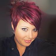 última tendência perucas capless retas curtas torna-lo mais incrível de alta qualidade cabelo humano cor misturada