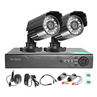 TWVISION 4CH HDMI 960H CCTV DVR Video Surveillance Recorder 1000TVL Outdoor Waterproof Cameras CCTV System