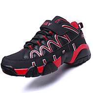 Boy's Athletic Shoes Spring Fall Mary Jane Leatherette Outdoor Athletic Flat Heel Lace-up Blue Black and Red Black and White Basketball