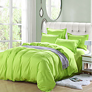Green High-end Aloe Cotton Reactive Printing Solid Fashion Bedding Set 4PC FULL Size