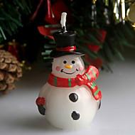 """5 ס""""מ נר חג המולד צלקת שלג חג המולד"""