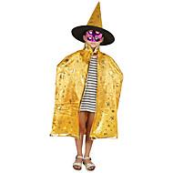 1個ハロウィーンエンチャンターマント女性の魔女5つ星のマントのマントの仮装パーティー