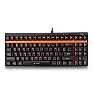 rapoo Gaming-Tastatur mechanische Tastatur v500 schwarze Welle voller Tasten programmierbar Pro mit 1,5 mm Trigger Hub
