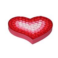 note roten Gradienten Größe 39 * 39 * 5cm kreative Valentinstag Geschenke Rose Seife Blume Geschenkbox