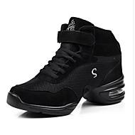 Sapatos de Dança(Roxo / Vermelho / Cinza) -Feminino-Não Personalizável-Moderna