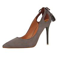 Homme-Habillé-Noir / Rose / Rouge / Gris / Orange / Kaki-Talon Aiguille-Confort-Chaussures à Talons-Daim
