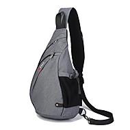 Unisex Polyester Sportief / Informeel / Buiten Sling Shoulder Bags Blauw / Groen / Rood / Grijs / Zwart