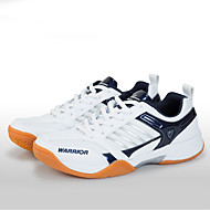 Unisex Athletic Shoes Fall Comfort PU Microfibre Athletic Platform Lace-up Blue Gray Badminton