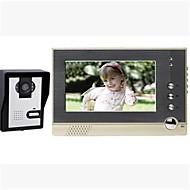 800*3(RGB)*480 120 CMOS 초인종 시스템 무선 다가구 영상 현관의 벨
