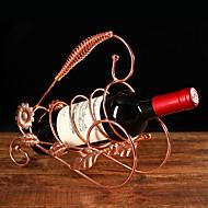 Viinitelineet Valurauta,26*9.5*23.5CM viini Lisätarvikkeet