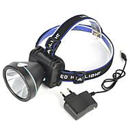 תאורה פנסי ראש / רצועות פנס / אורות בטיחות LED 2000 Lumens 1 מצב Cree XP-G R5 18650 קל במיוחד / ראש הזוויתמחנאות/צעידות/טיולי מערות /