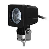 exLED 10W Waterproof LED Car Work Light Cool White 6500K 800lm