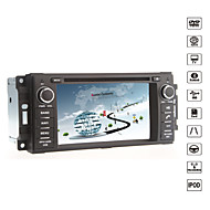 "cusp® 6.2 ""2 DIN bil DVD spiller for 2007-2010 jeep / commander / kranglefant med bluetooth, gps, ipod, rds, can-bus"