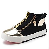 Boy's Sneakers Spring / Fall Comfort Canvas / Cotton Outdoor / Casual Flat Heel Zipper  / Walking / Sneaker