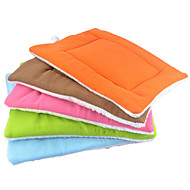 Cat Dog Bed Pet Mats & Pads Double-Sided Soft Green Blue Brown Pink Orange Cotton