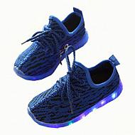 Mädchen-Sneaker-Lässig-Kunststoff-Flacher AbsatzSchwarz Grau Blau Rosa