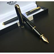 Kynä Kynä Täytekynät Kynä,Metalli tynnyri Musta Ink Colors For Koulutarvikkeet Toimistotarvikkeet Pakkaus
