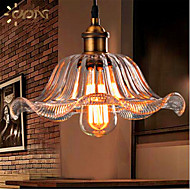 Loft  American Retro Single Head European Crystal Glass Living Room Dining Room  Bar A Chandelier(Diameter 25CM)